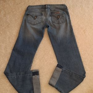 HUDSON GINNY STRAIGHT WITH CUFF JEANS